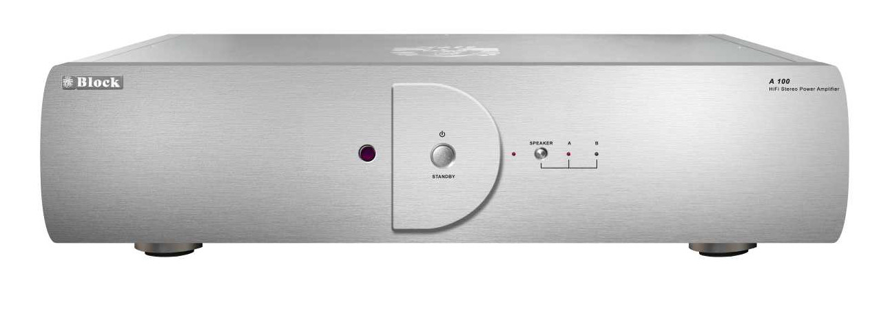 block a 100 stereo poweramplifier buy at. Black Bedroom Furniture Sets. Home Design Ideas
