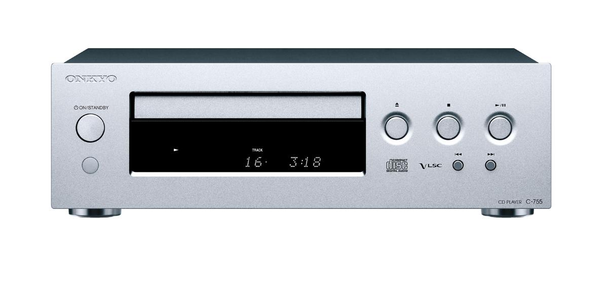 onkyo c 755 cd player silber kaufen bei. Black Bedroom Furniture Sets. Home Design Ideas