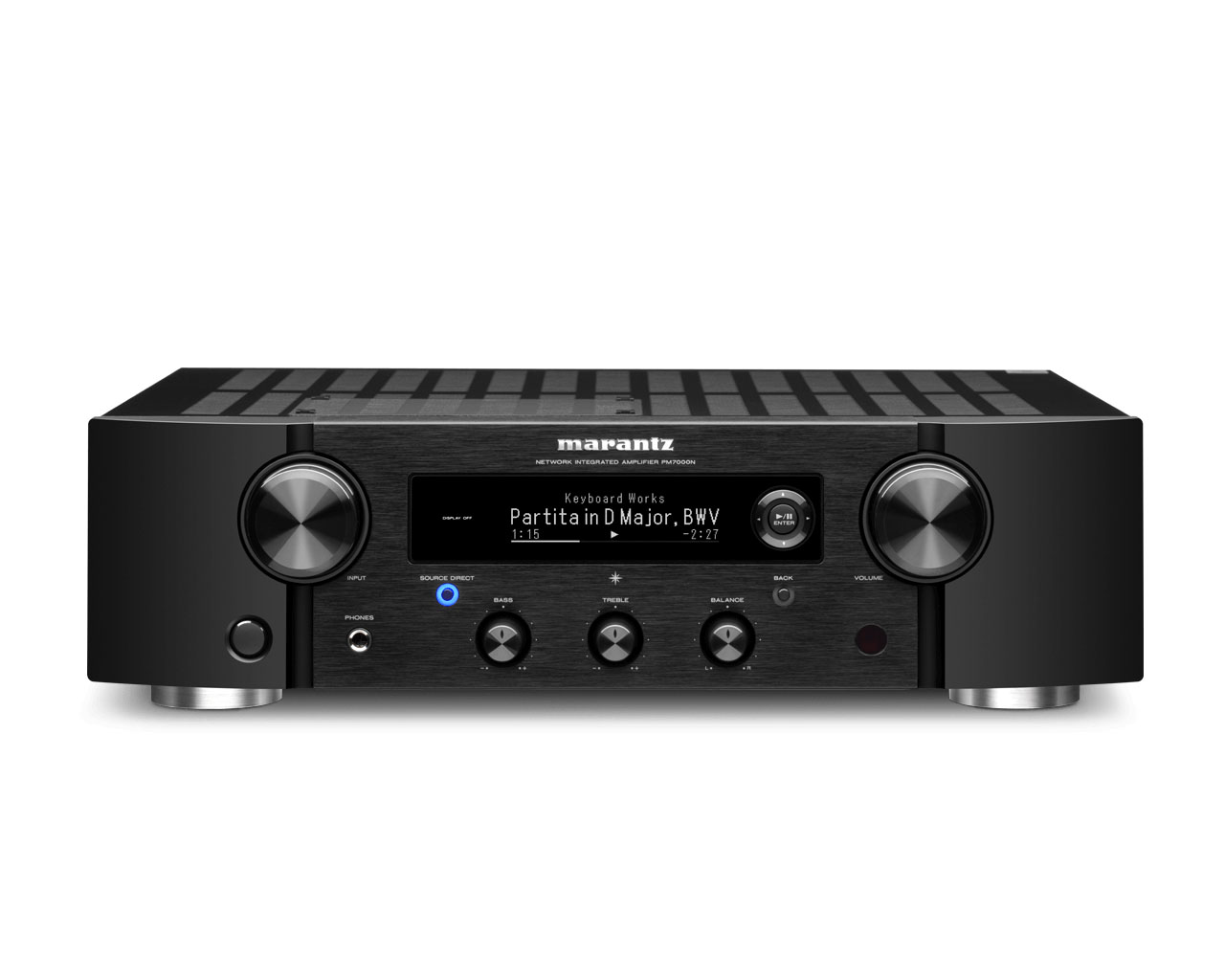 Marantz PM 7000 N Ingegrated Stereo-Amplifier with HEOS Built-in
