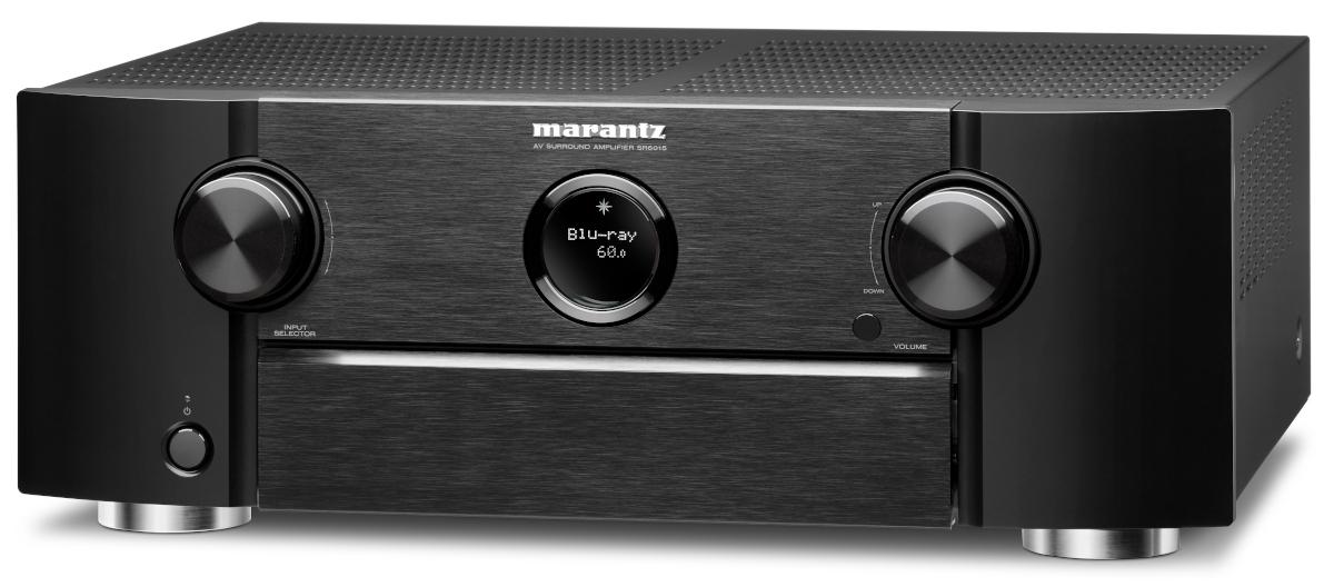 Marantz SR 6015 AV-Receiver 11.2 Chanel Full 8K Ultra HD with Heos Built-in, AirPlay2, Alexa buy at hifisound.de