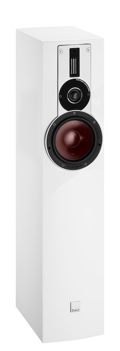 dali rubicon 5 stand speaker white hgl buy at. Black Bedroom Furniture Sets. Home Design Ideas