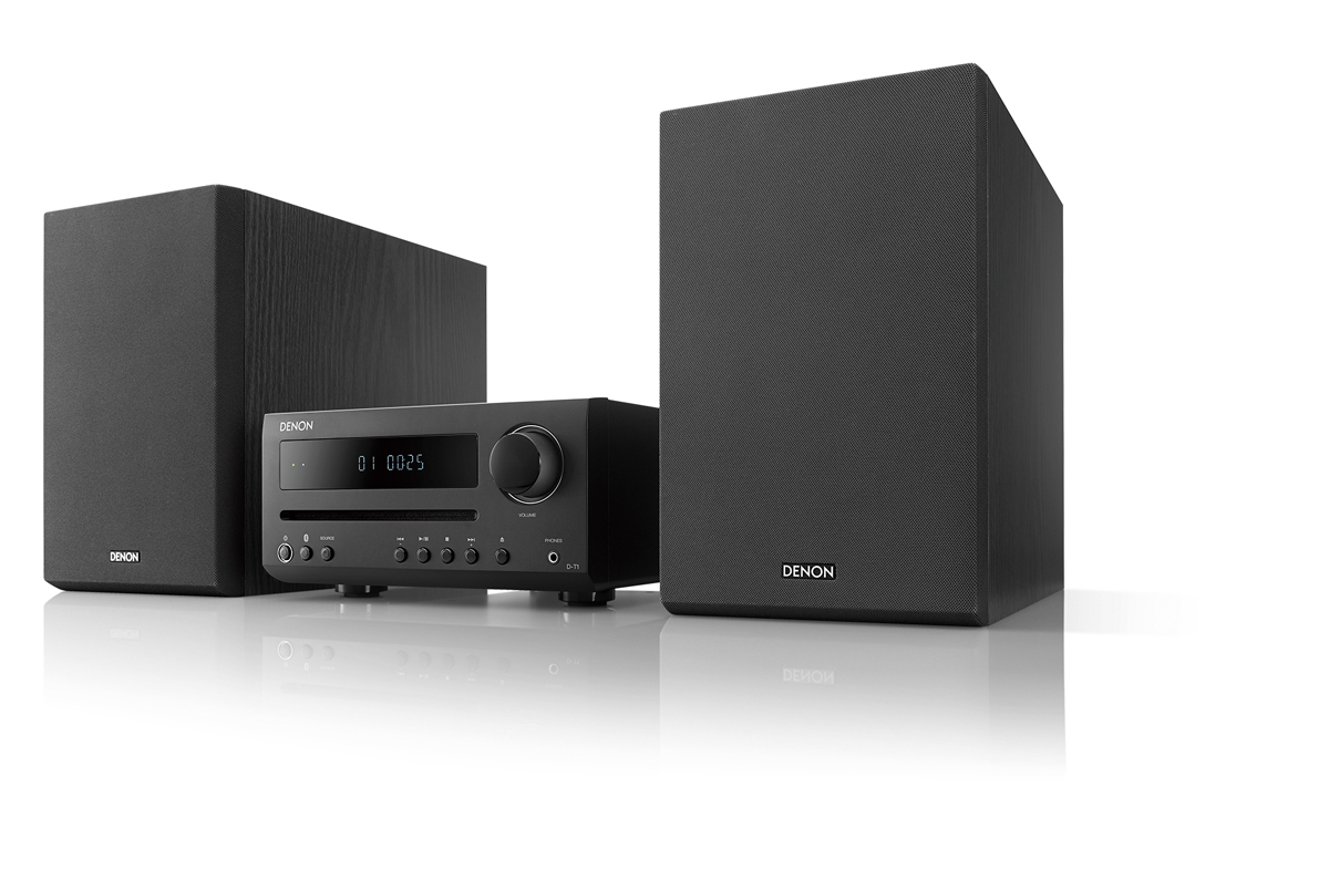 denon d t1 hi fi mini system with cd and bluetooth buy at. Black Bedroom Furniture Sets. Home Design Ideas