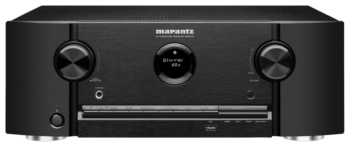 Marantz SR 5015 DAB AV-Receiver 7.2 Chanel Full 8K Ultra HD with Heos Built-in, AirPlay2, Alexa black buy at hifisound.de