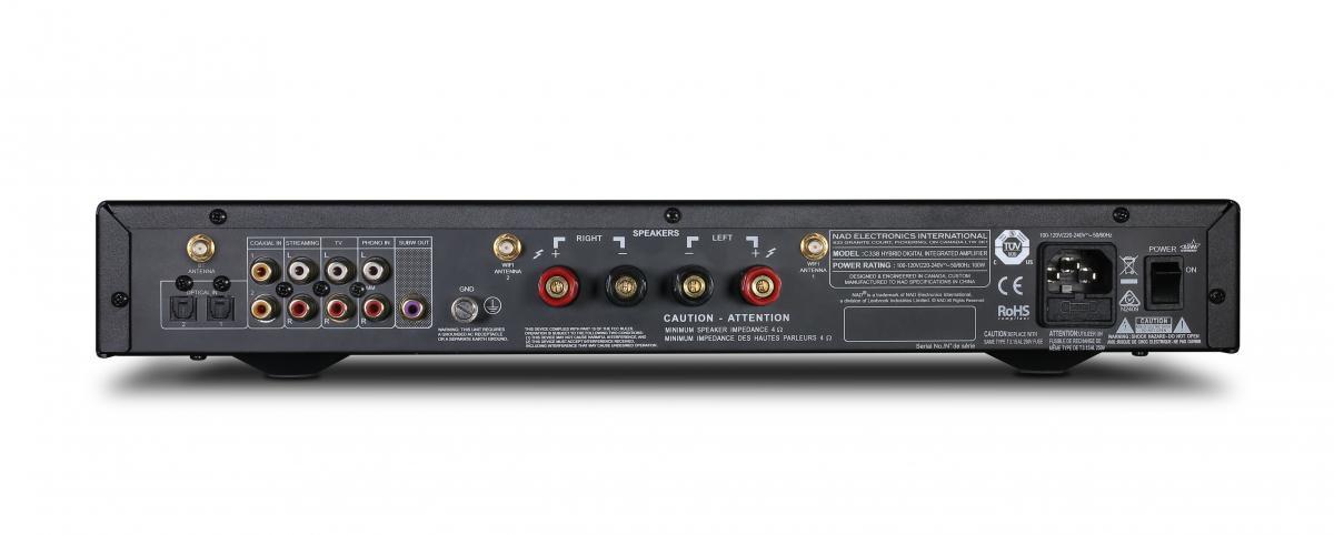 NAD C 338 Hybrid Digital Integrated Amplifier, graphite