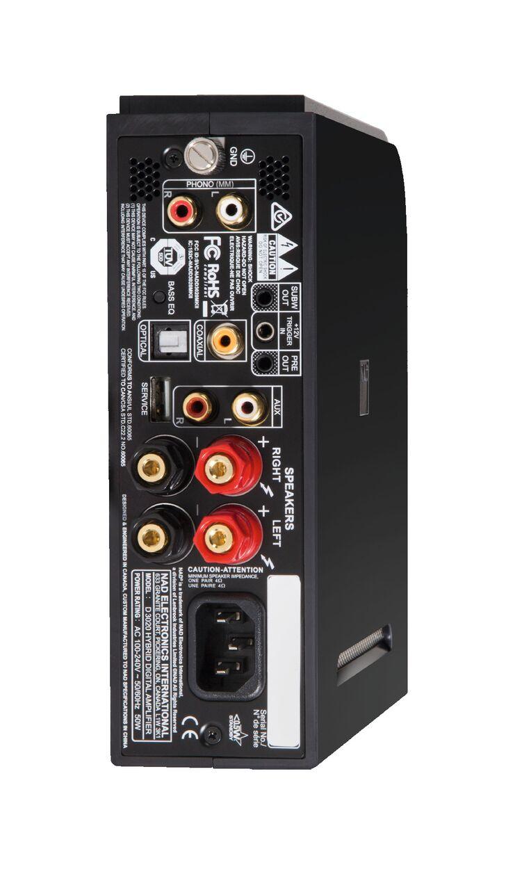 NAD D3020 V2 Hybrid Digital DAC Amplifier with Bluetooth