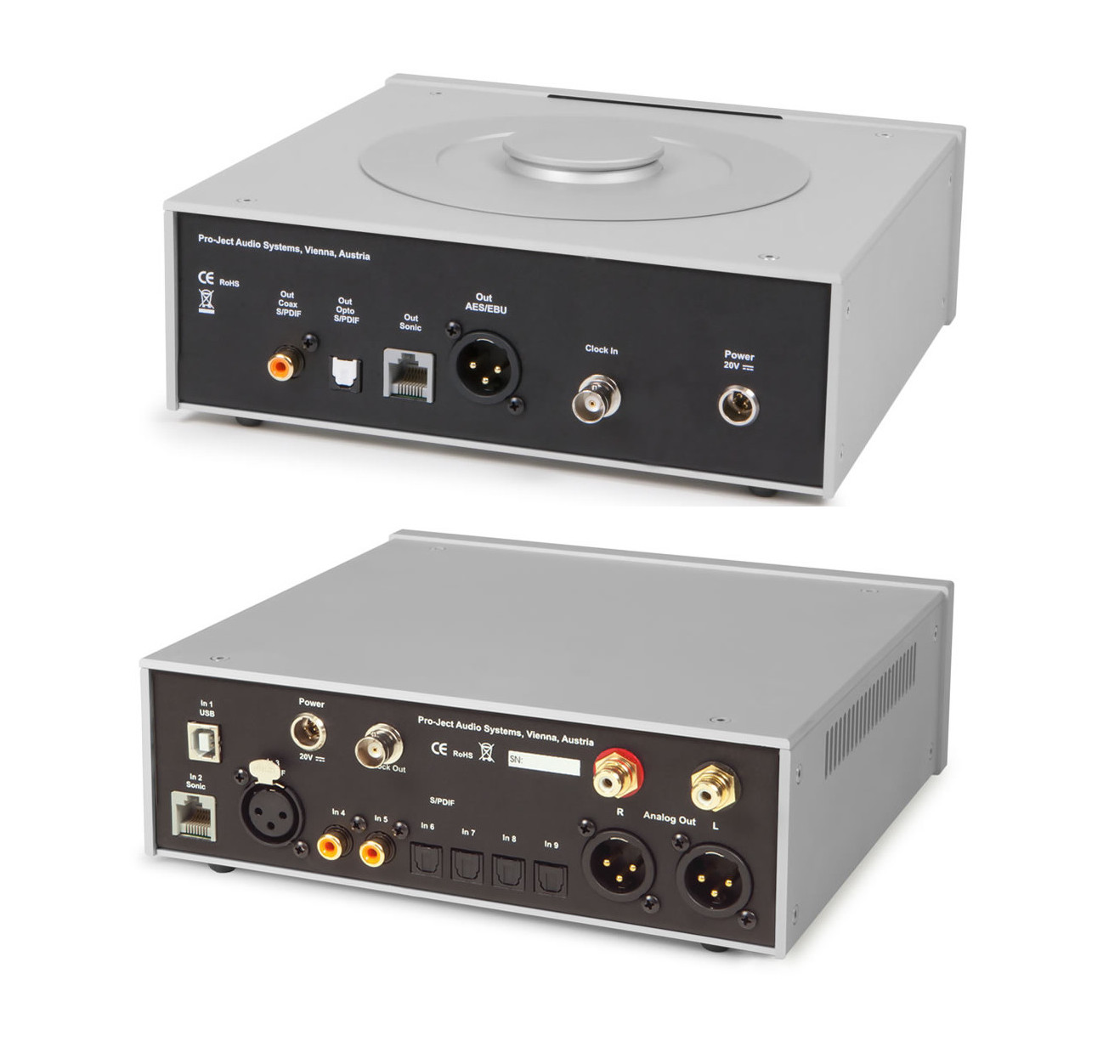 pro ject cd box dac box rs superpack silver buy at. Black Bedroom Furniture Sets. Home Design Ideas