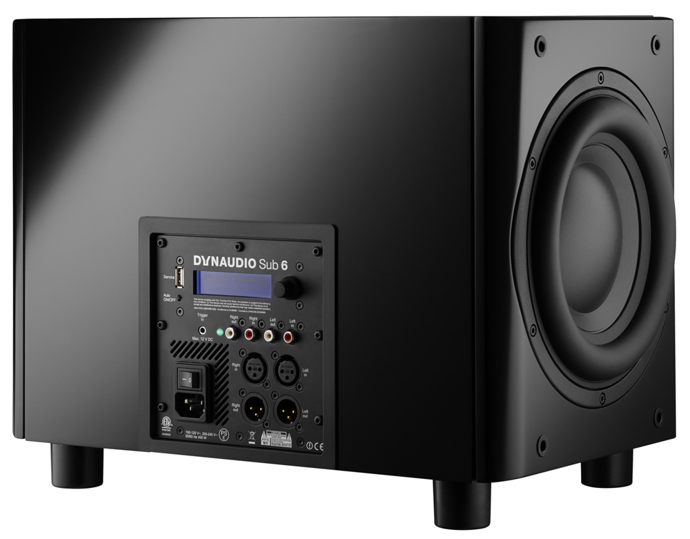 dynaudio sub 6 aktiv subwoofer kaufen bei. Black Bedroom Furniture Sets. Home Design Ideas