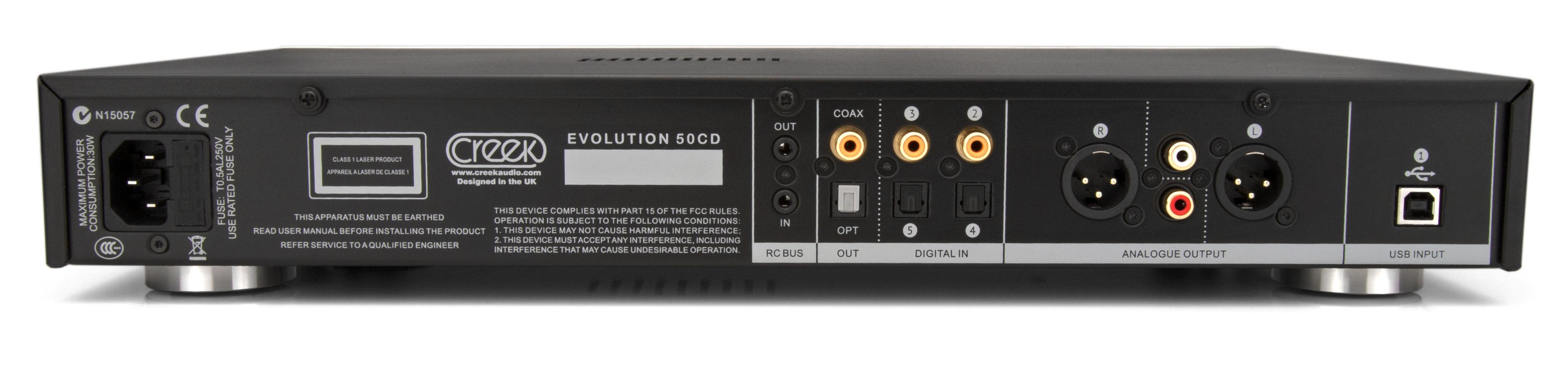 Creek Evolution 50 CD-Player incl. DA-Converter buy at ...