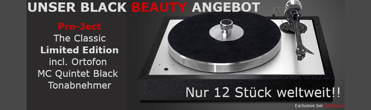 Pro-Ject Black Beauty DE