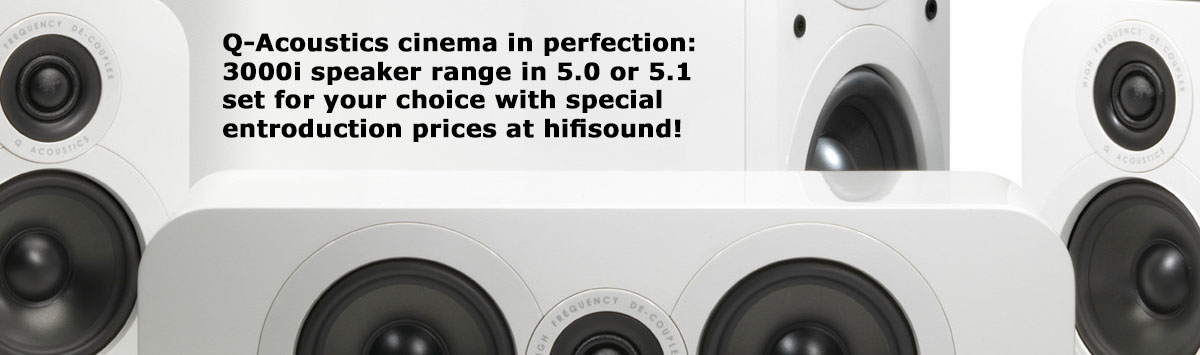 Q-Acoustics 3000i homecinema Set